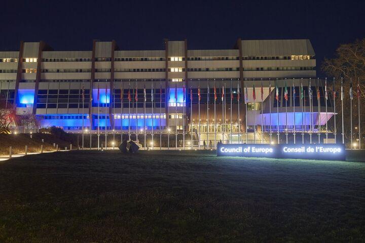 Το Συμβούλιο της Ευρώπης στα χρώματα της Ελλάδας
