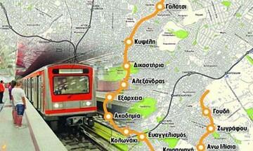 Μετρό: Αρχίζουν οι εργασίες για τη Γραμμή 4 «Άλσος Βεΐκου - Γουδή»