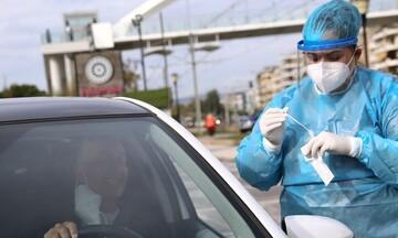 ΕΟΔΥ: Σε ποια σημεία θα γίνονται αύριο δωρεάν rapid tests μέσα από το αυτοκίνητο