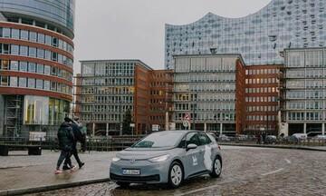 Volkswagen: Carsharing ηλεκτρικών αυτοκινήτων στο Αμβούργο