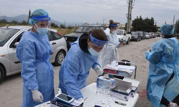 Αττική: Πάνω από 1.000 rapid tests έγιναν το τριήμερο