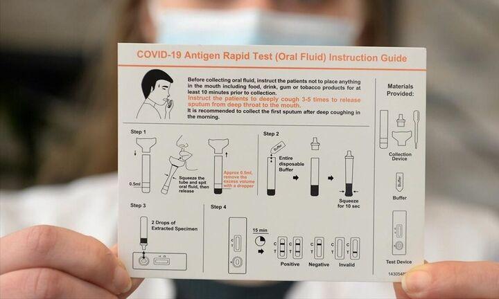 Αρχισε η δωρεάν διάθεση των self tests από τα φαρμακεία