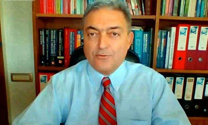 Βασιλακόπουλος: Το self test έχει 40% - 50% πιθανότητα να είναι ψευδώς αρνητικό