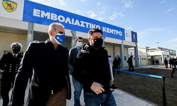 Χαρδαλιάς: Σε λειτουργία την Πέμπτη το νέο mega εμβολιαστικό κέντρο στην Πάτρα