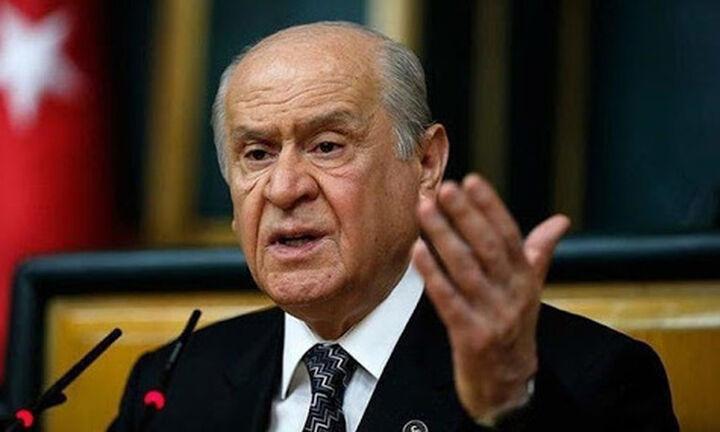 Πρόκληση Μπαχτσελί: Μιλάει για συνωμοσία εναντίον Τουρκίας και προβοκάτσια από Ελλάδα