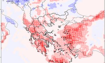 Σημαντική άνοδος της θερμοκρασίας στη Δυτική και Νότια Ελλάδα - Έντονη μεταφορά σκόνης
