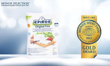 Τριπλή χρυσή διάκριση για τα προϊόντα φέτας Π.Ο.Π. της ΗΠΕΙΡΟΣ στα Monde Selection 2021