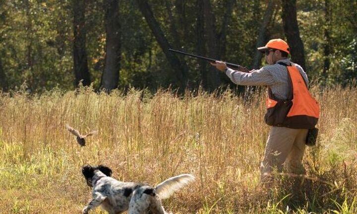 Απαλλαγή από τα τέλη του Δημοσίου για την έκδοση άδειας κυνηγιού
