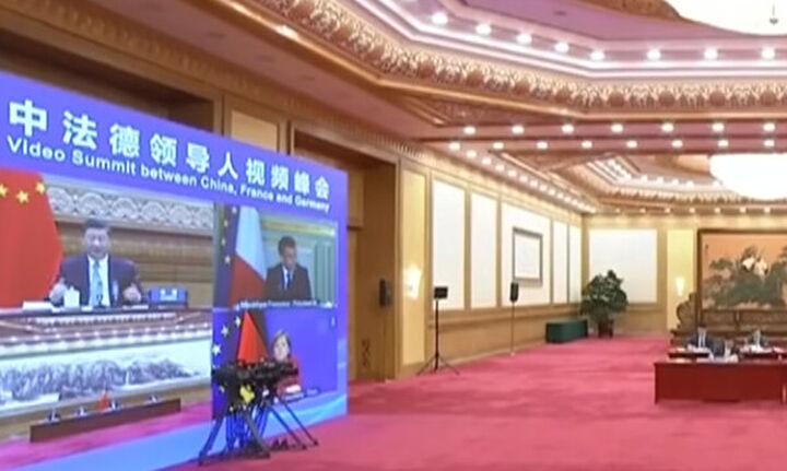 Κίνα: Συνεργασία με Γαλλία και Γερμανία για την κλιματική αλλαγή