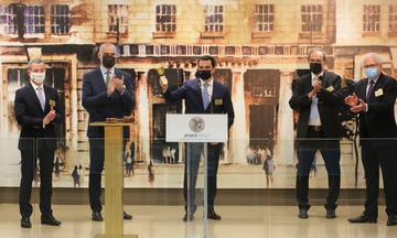 Χρηματιστήριο Αθηνών: Την έναρξη της Eβδομάδας Eνέργειας κήρυξε ο Κ. Σκρέκας