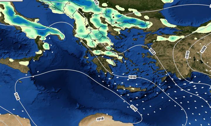 Ο καιρός την Τετάρτη 21 Απριλίου: Οι περιοχές που θα βρέχει