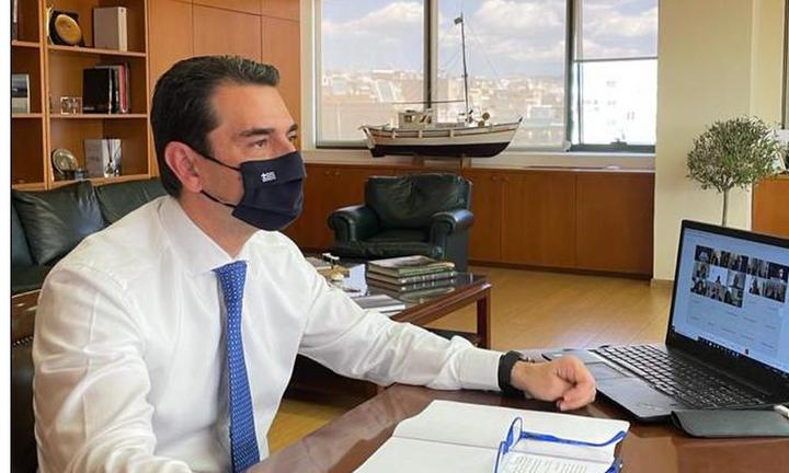 Κ.Σκρέκας: Ενημέρωση διπλωματών για την ενεργειακή πολιτική