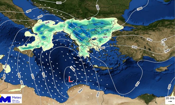 Αλλαγή του καιρού από την Παρασκευή – Βροχές, σκόνη και ισχυροί άνεμοι το επόμενο τριήμερο