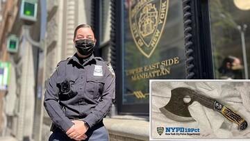 Νέα Υόρκη: Αυτή είναι η ατρόμητη Ελληνίδα που εξουδετέρωσε γυναίκα με... τσεκούρι!