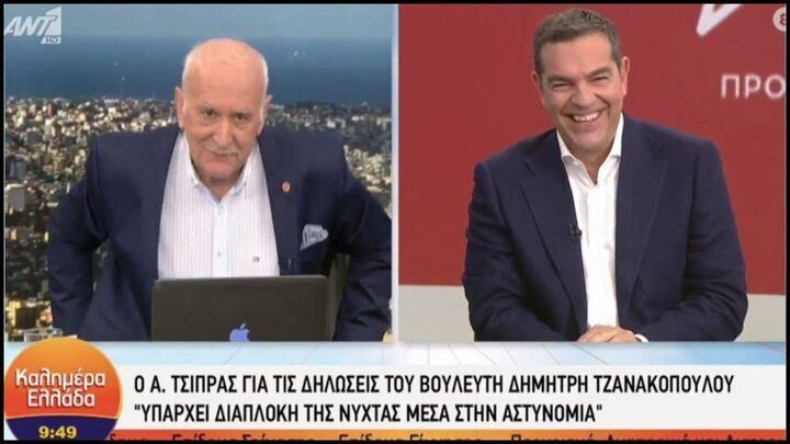 Ο Τσίπρας αποκάλεσε «Μητσοτάκη» τον Γιώργο Παπαδάκη - Η επική αντίδραση του παρουσιαστή! (video)