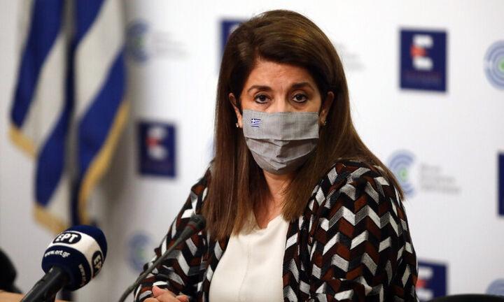 Β. Παπαευαγγέλου: Αποκλιμάκωση της επιδημίας για δεύτερη συνεχόμενη εβδομάδα