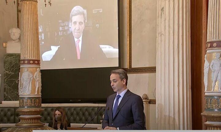 Μητσοτάκης για John Kerry: Τιμούμε όσους συνέβαλαν στη γέννηση της ελεύθερης Ελλάδας
