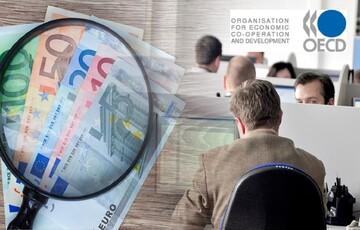 Μείωση της φορολογικής επιβάρυνσης των μισθών στην Ελλάδα το 2020, σύμφωνα με τον ΟΟΣΑ