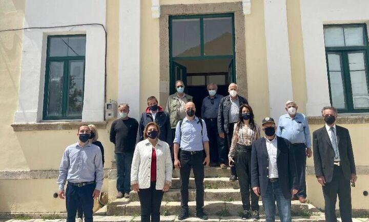 Επίσκεψη Αμυρά σε Κέρκυρα και Διαπόντια νησιά για τους δασικούς χάρτες