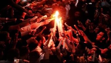 Δέος, κατάνυξη και συνθήκες προ covid στην τελετή Αφής του Αγίου Φωτός στον Πανάγιο Τάφο (video)