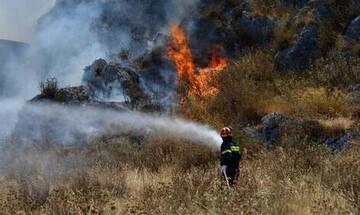 Οριοθετήθηκε η φωτιά στην Σμέρνα της Ηλείας -  Συνεχίζονται οι προσπάθειες για πλήρη έλεγχο