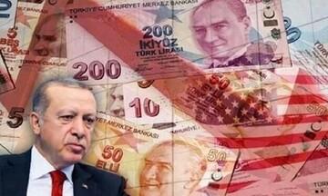 Τουρκία: Συνεχίζει να «βουλιάζει» η οικονομία - Σε χαμηλό 6μηνου η λίρα