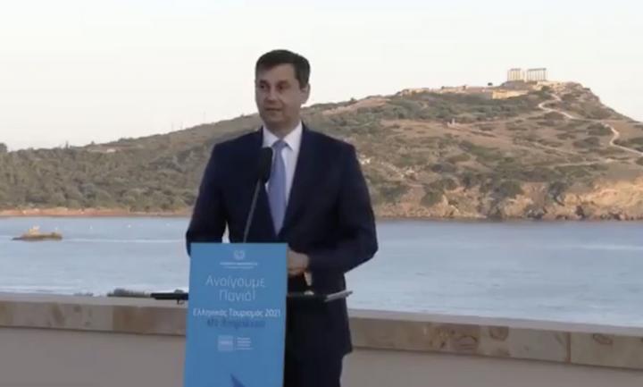 Θεοχάρης: Με πέντε διαφορετικές «ζώνες άμυνας» ανοίγει ο τουρισμός