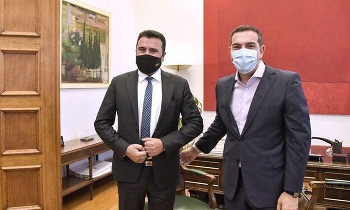 Τσίπρας σε Ζάεφ : Όλοι πλέον αντιλαμβάνονται ότι η Συμφωνία των Πρεσπών ήταν ιστορική