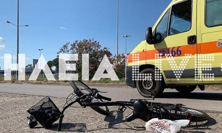 Αμαλιάδα: Ασυνείδητος οδηγός παρέσυρε, τραυμάτισε... έβρισε και εγκατέλειψε 13χρονους ποδηλάτες