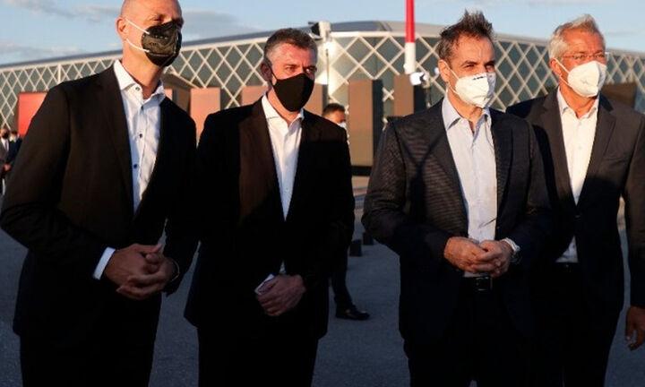 Μητσοτάκης: Το νέο αεροδρόμιο δίνει νέες προοπτικές για τη Θεσσαλονίκη