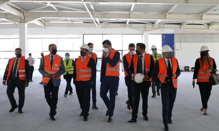Ξεπερνά τα 100 εκατ. ευρώ η επένδυση στο δεύτερο hub της Pfizer στη Θεσσαλονίκη