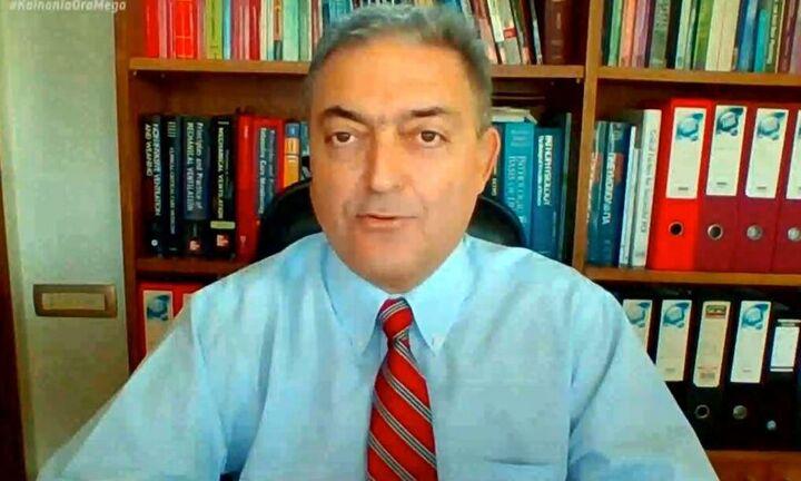 Βασιλακόπουλος: «Καμπανάκι» κινδύνου για τη χαλάρωση - Προσοχή στις τουριστικές περιοχές