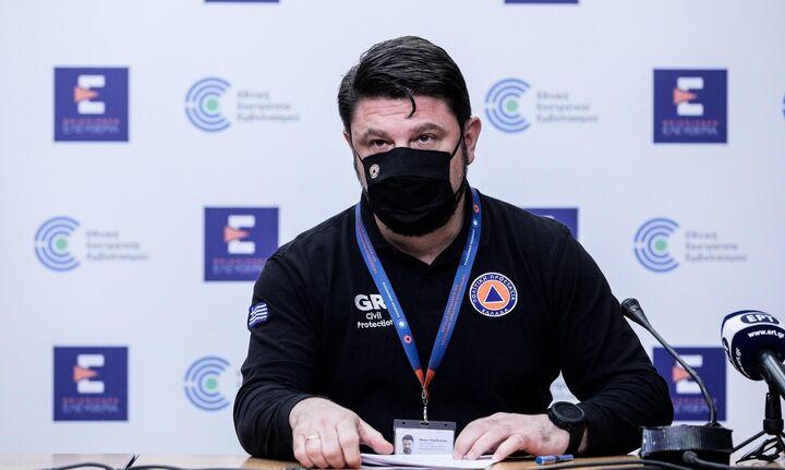 Ν. Χαρδαλιάς: Στάχτη 20 χιλ. στρέμματα δάσους από την πυρκαγιά στο Σχίνο Λουτρακίου