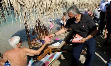 Σας ενδιαφέρει: Αυτές είναι οι οδηγίες προστασίας κατά της πανδημίας στις παραλίες (λίστα)