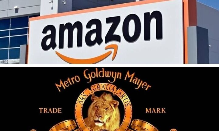 Μεγάλο deal της Amazon: Εξαγόρασε τηνMetro Goldwyn Mayer (MGM) για 8,45 δισ. δολάρια