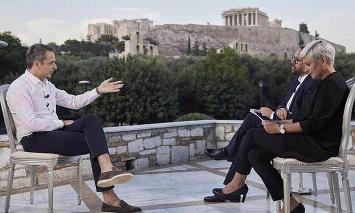 Κυρ. Μητσοτάκης στη Bild: Φέτος θα έχουμε τους διπλάσιους τουρίστες από το 2020
