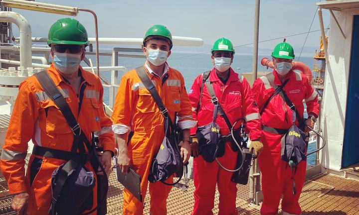 Επιθεώρηση στον Πρίνο από την Ελληνική Διαχειριστική Εταιρεία Υδρογονανθράκων
