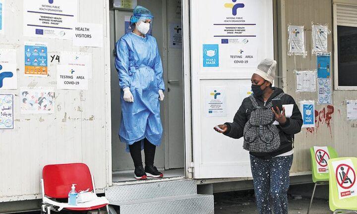 Ξεκίνησε ο εμβολιασμός των αιτούντων άσυλο στα νησιά και την ενδοχώρα