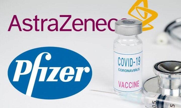 Γερμανία: Δεν παρουσιάζει κανένα μειονέκτημα ο συνδυασμός των εμβολίων Astrazeneca και Pfizer
