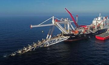 100 χλμ. απομένουν για να ολοκληρωθεί η κατασκευή του αγωγού Nord Stream 2