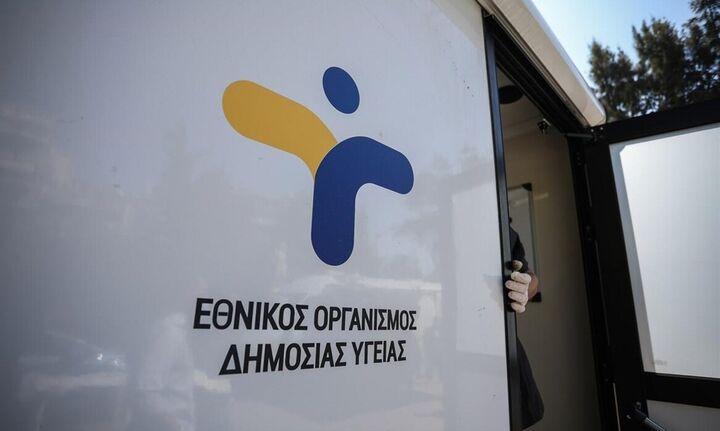 ΕΟΔΥ: Που θα γίνονται δωρεάν rapid test την Τετάρτη 9 Ιουνίου