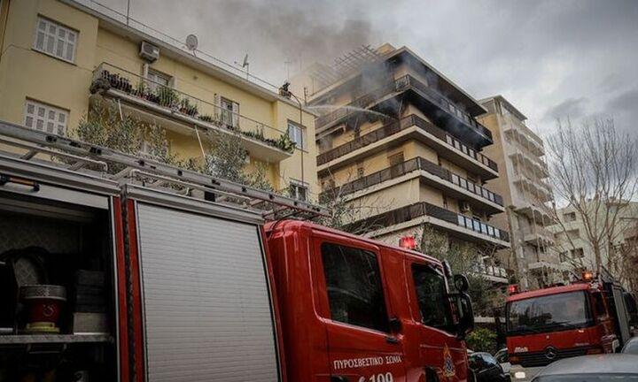 Νεκρός άνδρας από πυρκαγιά σε διαμέρισμα στην περιοχή του Γκύζη