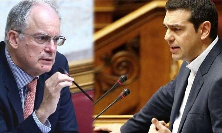 Άγρια κόντρα στη Βουλή μεταξύ Τσίπρα - Τασούλα στην ερώτηση για τα δάνεια της ΝΔ (video)