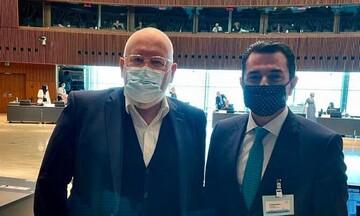 Συνάντηση Κ. Σκρέκα με τον Αντιπρόεδρο της Ευρωπαϊκής Επιτροπής, Frans Timmermans