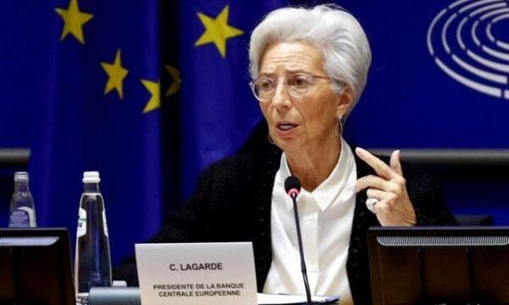 Λαγκάρντ: Πολύ νωρίς να συζητηθεί η ολοκλήρωση του έκτακτου προγράμματος αγοράς ομολόγων