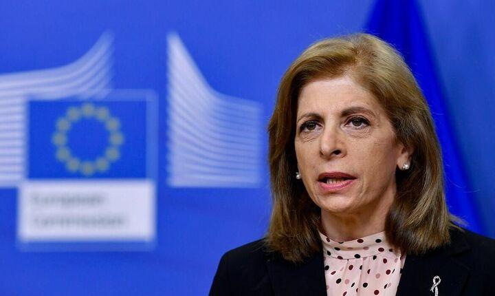 Σ. Κυριακίδου: 25 εκατ. εμβολιασμοί κάθε εβδομάδα στην ΕΕ