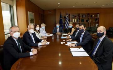 Συνάντηση Κ. Σκρέκα με κλιμάκιο της Τράπεζας Ανάπτυξης για την χρηματοδότηση έργων υποδομών