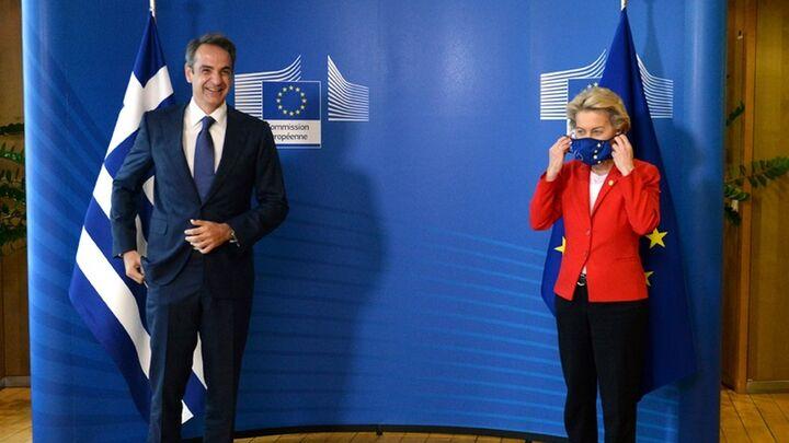 Αποκαλυπτήρια του «Ελλάδα 2.0» από Μητσοτάκη και φον ντερ Λάιεν