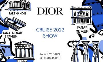 Φαντασμαγορική επίδειξη του οίκου Dior στο Καλλιμάρμαρο