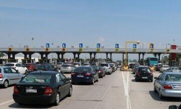 """Αυξημένη κίνηση στα διόδια Μαλγάρων μετά από """"καραμπόλα"""" αυτοκινήτων"""